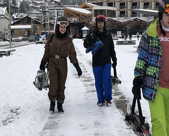skiweb ski carrier